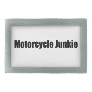 Drogadicto de la motocicleta hebillas de cinturon rectangulares