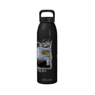 Drogadicto de la vida del campista botellas de agua reutilizables