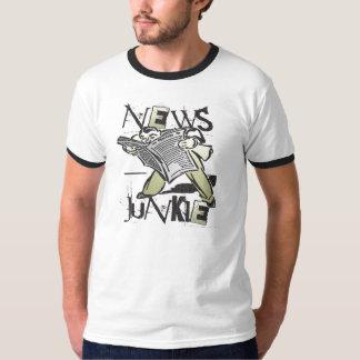 Drogadicto de las noticias playera