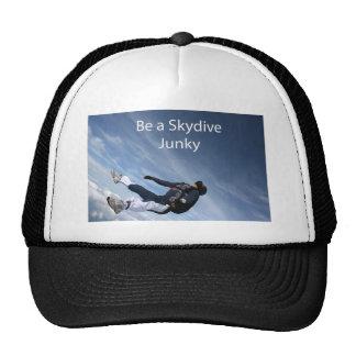 Drogadicto de Skydive Gorras