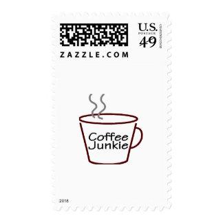 Drogadicto del café sellos