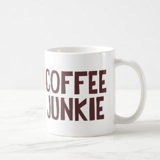 Drogadicto del café taza