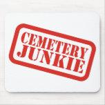 Drogadicto del cementerio alfombrilla de raton