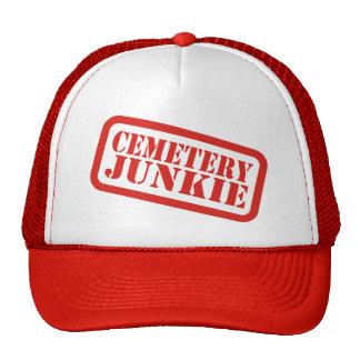 Drogadicto del cementerio gorras de camionero