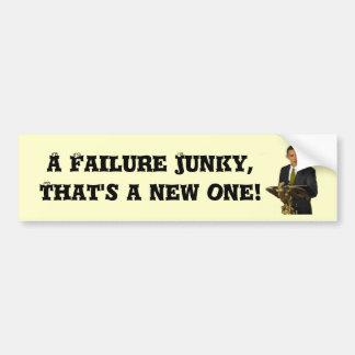 ¡Drogadicto del fracaso! Pegatina Para Auto
