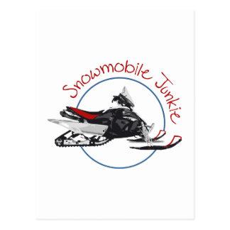 Drogadicto del Snowmobile Postal