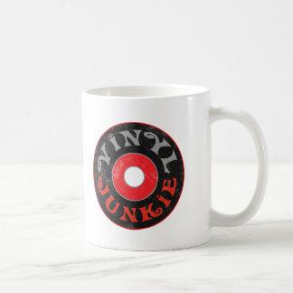 Drogadicto del vinilo taza de café
