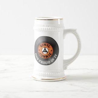 Drogadicto del vinilo - y orgulloso de él taza de café