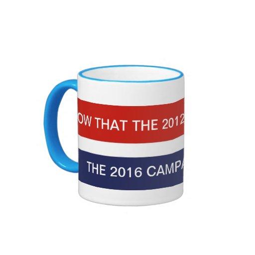 Drogadicto político taza de café
