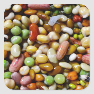Drogadictos del arte de la COMIDA:  Espectro Pegatina Cuadrada