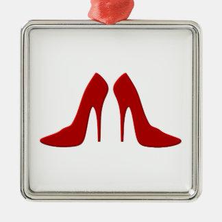 drogado heels ornamento de navidad