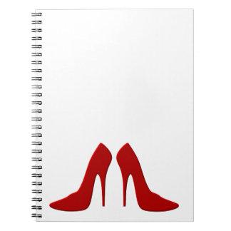 drogado heels cuadernos