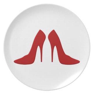 drogado heels plato para fiesta