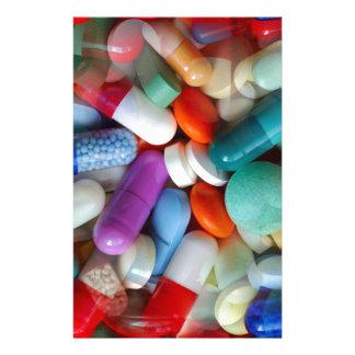 drogas de las píldoras papelería