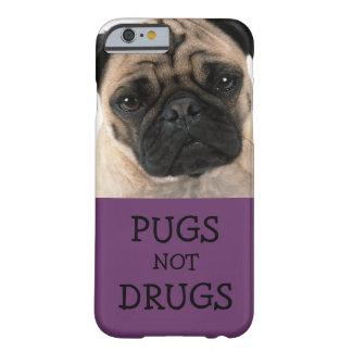Drogas de los barros amasados no - púrpura funda barely there iPhone 6