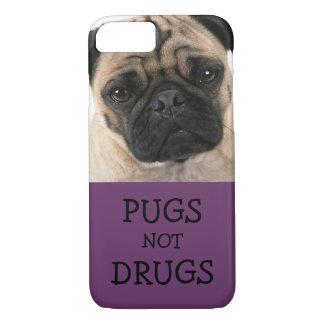 Drogas de los barros amasados no - púrpura funda iPhone 7