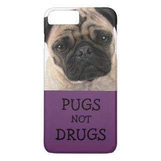 Drogas de los barros amasados no - púrpura funda iPhone 7 plus