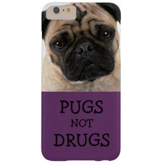 Drogas de los barros amasados no púrpuras funda barely there iPhone 6 plus