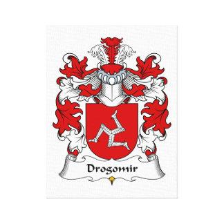 Drogomir Family Crest Canvas Print