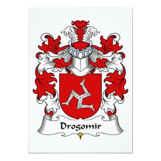 Drogomir Family Crest Card