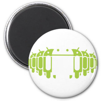 Droid Army 2 Inch Round Magnet