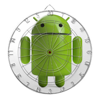 Droid Dartboard With Darts