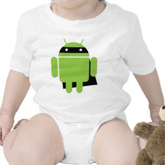 Droid estupendo camisetas