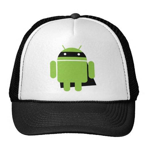 Droid estupendo gorras de camionero