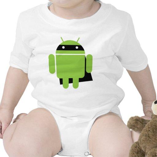 Droid estupendo traje de bebé