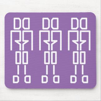 Droid Puzzle Mousepad