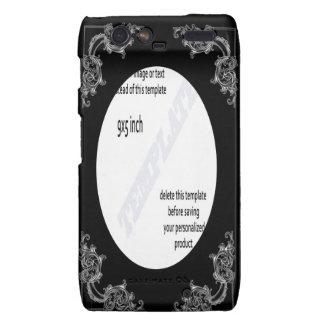 Droid razor phone template motorola droid RAZR case
