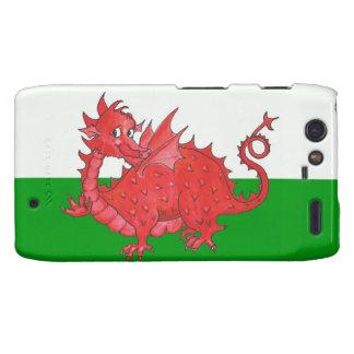 Droid RAZR Case-Mate Case, Cute Welsh Red Dragon