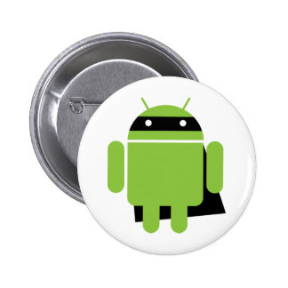 Droid Super Pinback Button