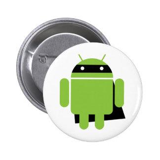 Droid Super Pinback Button