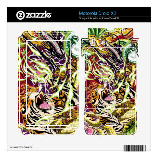 Droid X2 Dance Of Ascension Vinyl Skins Motorola Droid X2 Skin