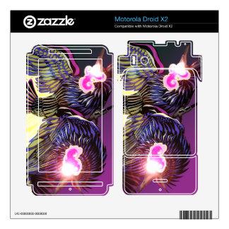 Droid X2 Ravens Vinyl Skins Motorola Droid X2 Decals