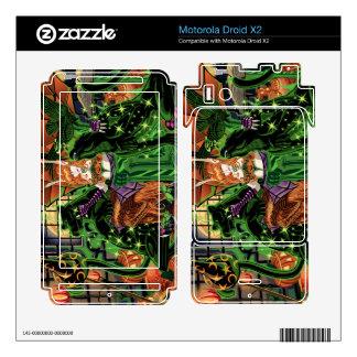 Droid X2 Work Your Inner Magic Vinyl Skins Motorola Droid X2 Decal