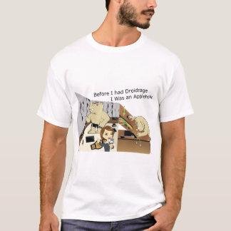 DroidrageAppleholic Light Colors Wide Image T-Shirt