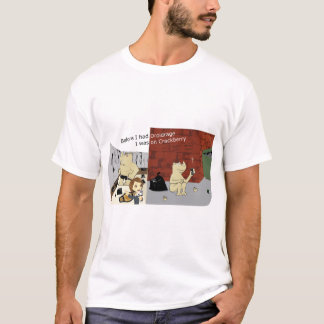DroidrageCrackberry Light Colors Wide Image T-Shirt