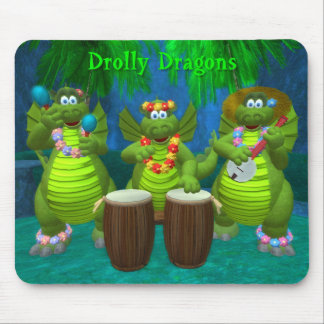 Drolly dragones: Golpe Mousepad