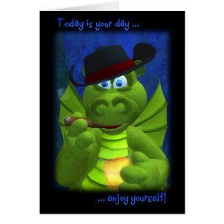 Drolly Dragons Father's Day Card