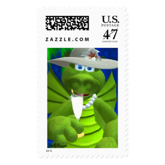 Drolly Dragons Party Fun Postage