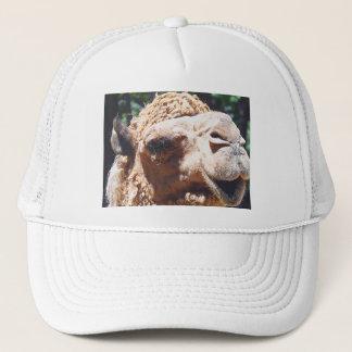 Dromedary One Hump Camel Face Closeup Trucker Hat