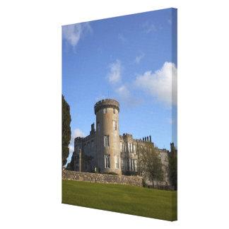 Dromoland Castle Hotel in Canvas Print