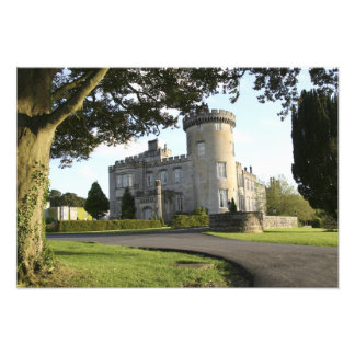 Dromoland Castle side entrance with no people Photographic Print