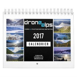 Drone Alps 2017 Calendar