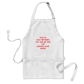 drone adult apron