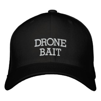 Drone Bait Embroidered Baseball Caps