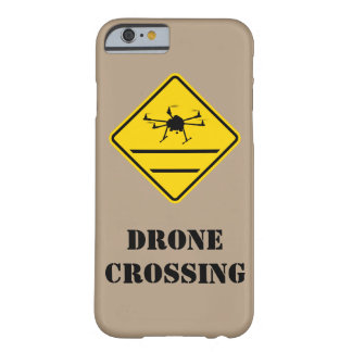 drone crossing hexacopter phone case barely there iPhone 6 case