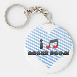Drone Doom fan Key Chains